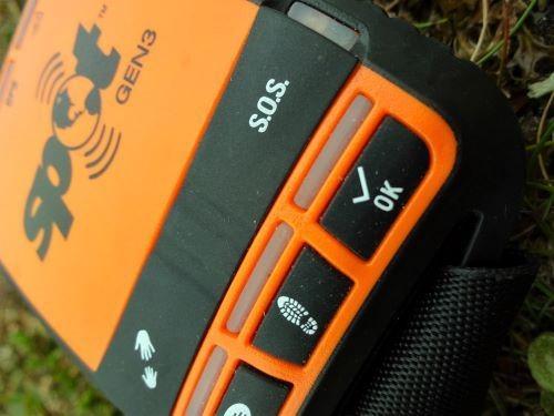 spot voor alarmering van reddingsdienst in de wildernis